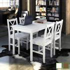 Kitchen Dining Set Wooden Furniture Lacquered Table and 4 Ch