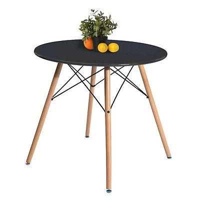 kitchen dining table round coffee table black