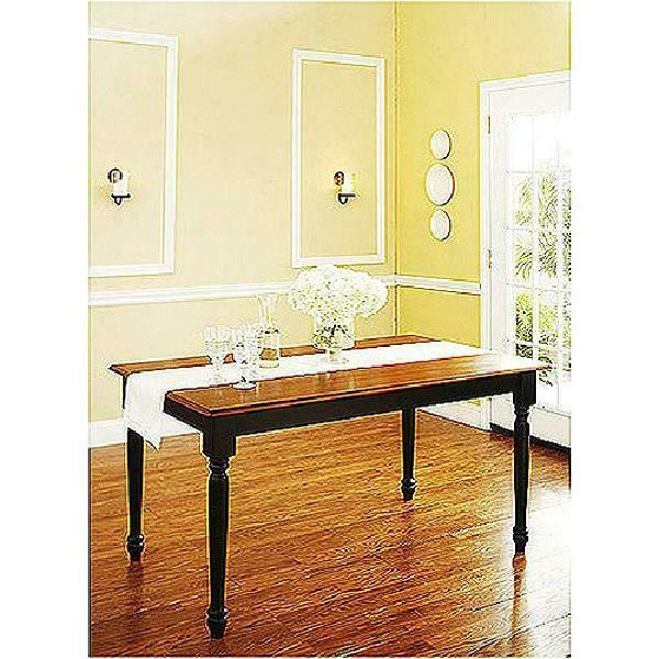 large kitchen dining room dinner table rectangle