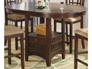 Lavon Counter Height Dining Table in Cherry Finish by Coaste