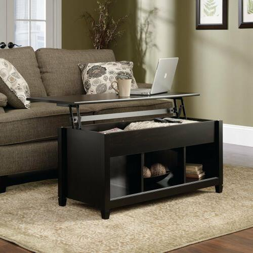 Lift Top Coffee Table Modern Furniture w/Hidden Storage Comp