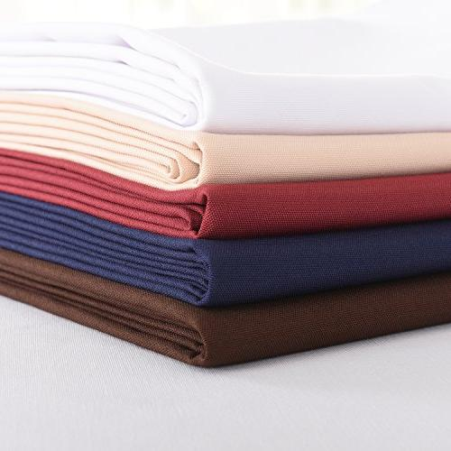 HIGHFLY Rectangle Waterproof Beige Tablecloth Dining