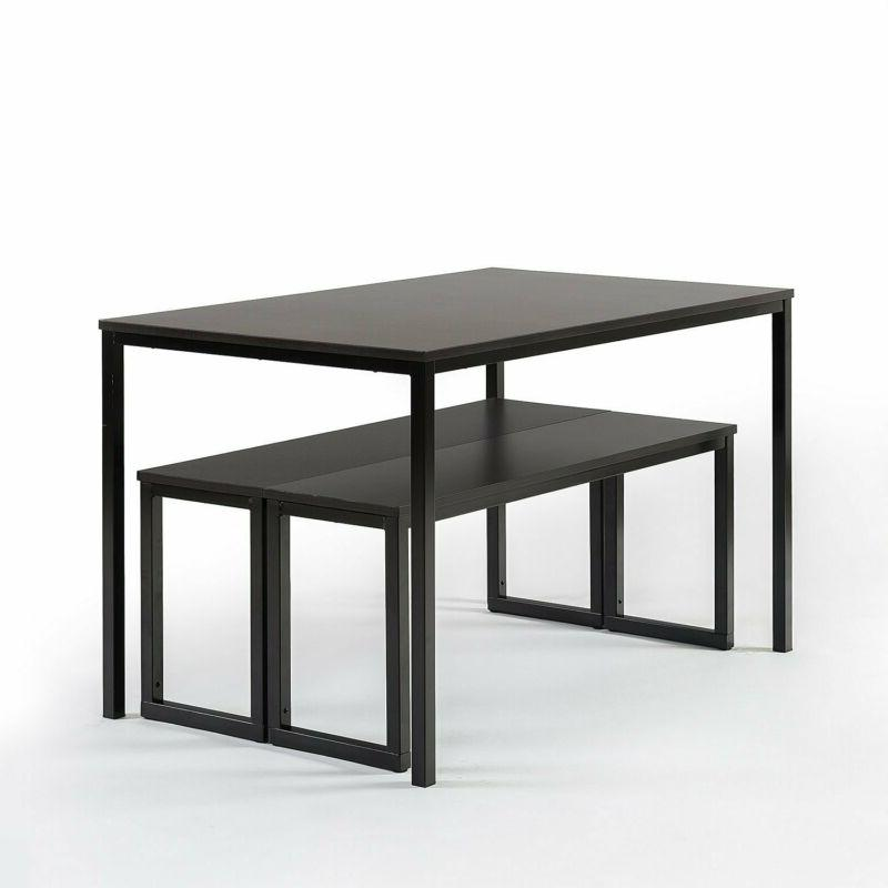 Zinus Collection Dining With Benches / 3 Piec