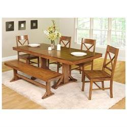 6-Piece Millwright Wood Dining Set