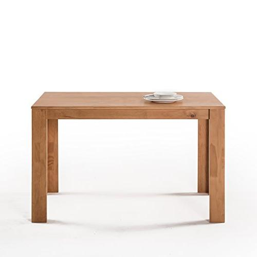 Zinus Style Wood Dining Table Table Only,