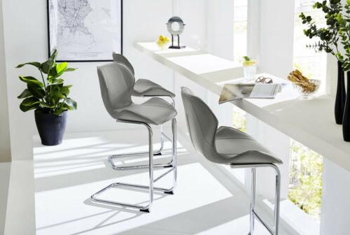 Modern Dining Dining Leather Gray