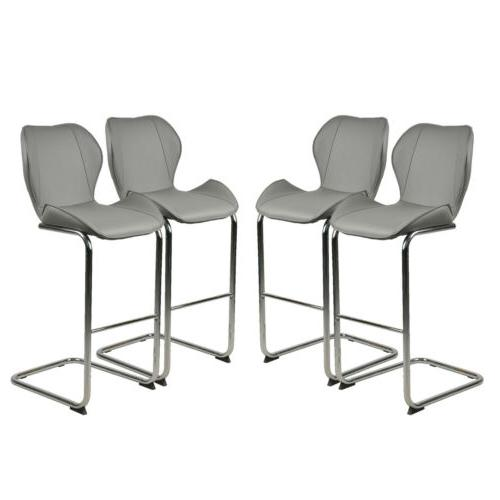 Modern Dining of 4pcs Dining Barstools Pu