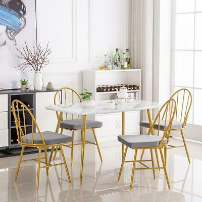 Modern Dining 4 Chairs legs White