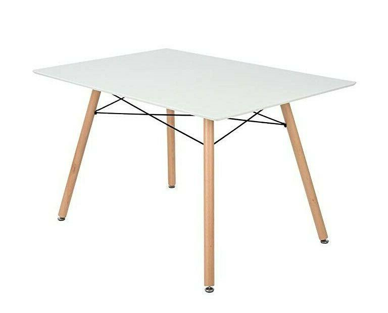 modern kitchen dining table rectangular wooden top