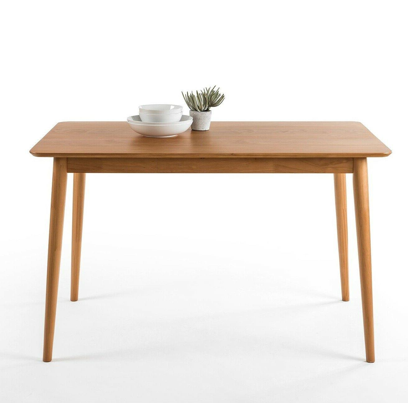 modern wooden dining table kitchen home mid