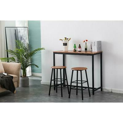 3 Pub Sets Counter Chairs Furniture Brown
