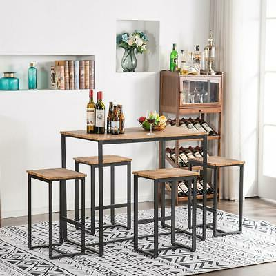 NEW 5 Piece Dining Table 4 Chairs Dining Room