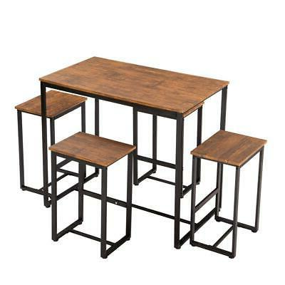 Dining Table Set with 4 Furniture