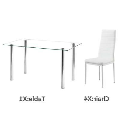 Hot Table 6 Glass Furniture White