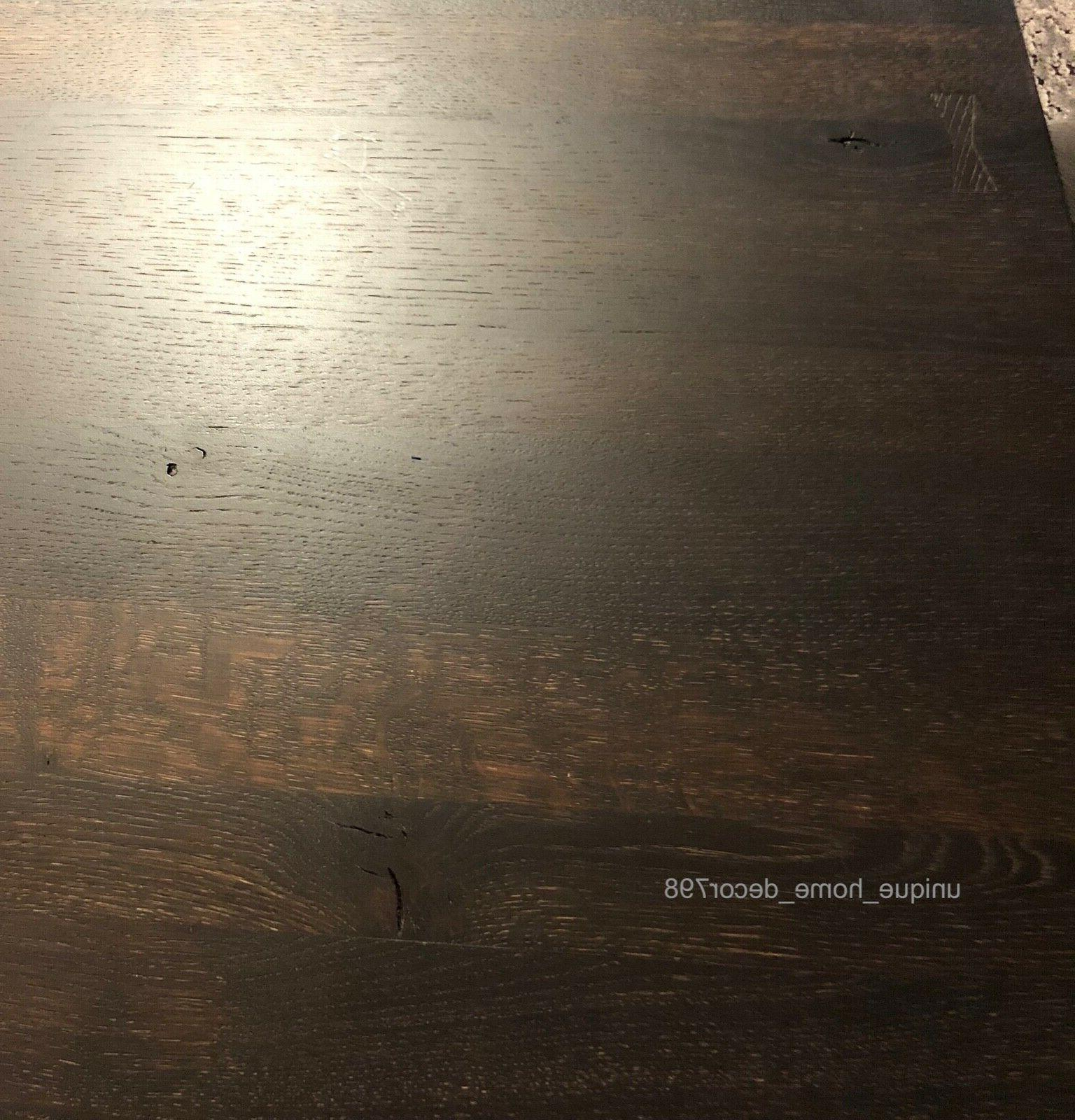 """78"""" Gold Dining Table Restoration Reproduction"""