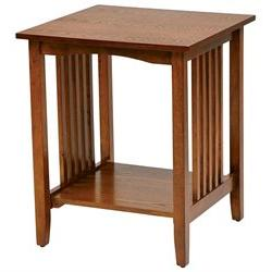 Osp Designs Sierra Side Table In Ash Finish