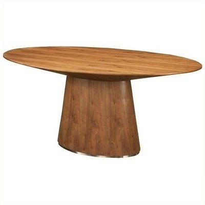 Otago Oval Dining Table in Walnut