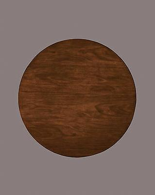 Owingsville Black-Brown Round Dining Room Table Top D580-15T