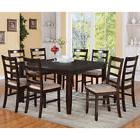 East West Furniture Parfait Square Table Dining Set with Mic