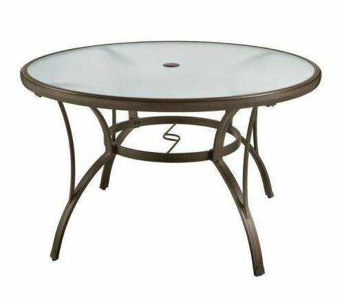 Rio Brands PTS40-TS Sienna Round Table, 40-Inch