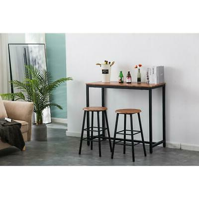 Pub Set Piece Stools Dining Chairs