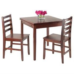Winsome Pulman Extension Table Walnut