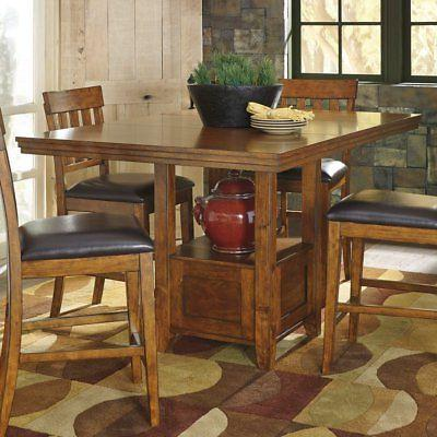 ralene rectangular counter height dining table