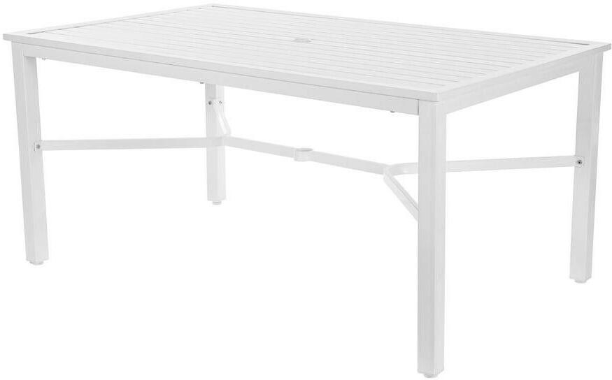rectangle metal outdoor dining table mix
