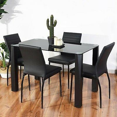 Dining Table Dining Table, Black