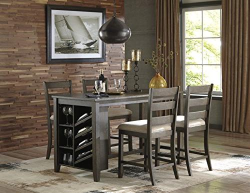 Signature Design by D397-32 Rokane Height Dining Room Table