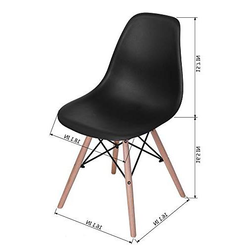 HOMY Round cm and Set of 4 Dining Chair