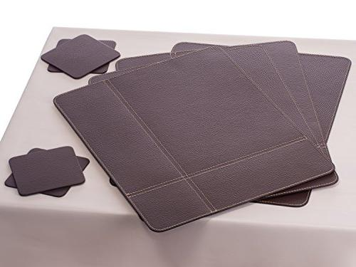 Nikalaz Placemats Coasters, Table Mats Coasters, Place Mats 15.7 x 11.8 Coasters inches, Dining
