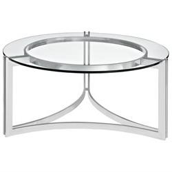 Signet Stainless Steel Coffee Table by Modway
