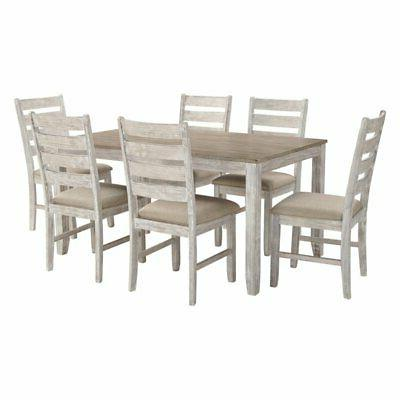 skempton 7 piece dining table set