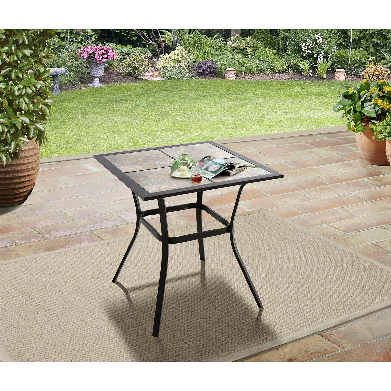 small outdoor patio dining table backyard furniture