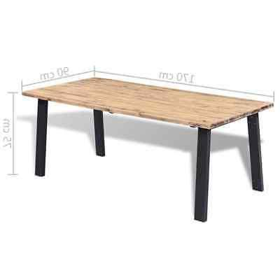 vidaXL Acacia Wood Dining Table Tabletop with