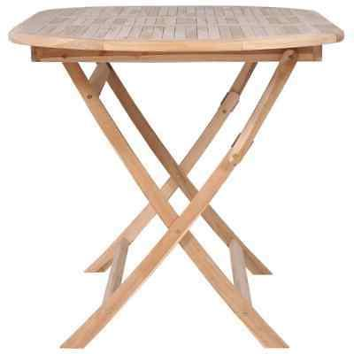 vidaXL Solid Dining Table Wooden Furniture