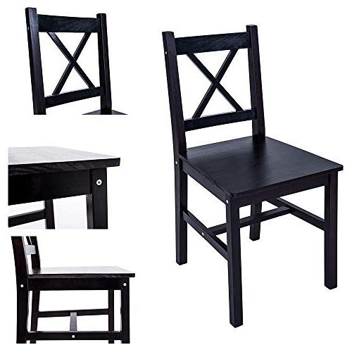Merax Table Chairs, Kitchen Table