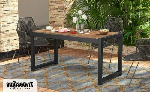 Tribesigns Table Outdoor Dining Table Home