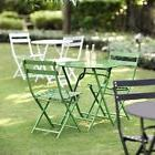 Outdoor Patio Bistro Set 3pc Table Chairs Folding Dining Gar