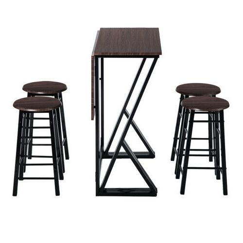 TOPMAX 5PCS Table Set Dinette with Chairs