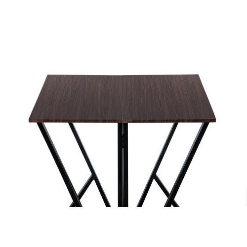 TOPMAX 5PCS Set Pine Dinette Table with Chairs