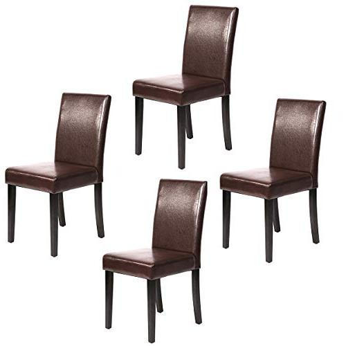 urban leather dining chairs