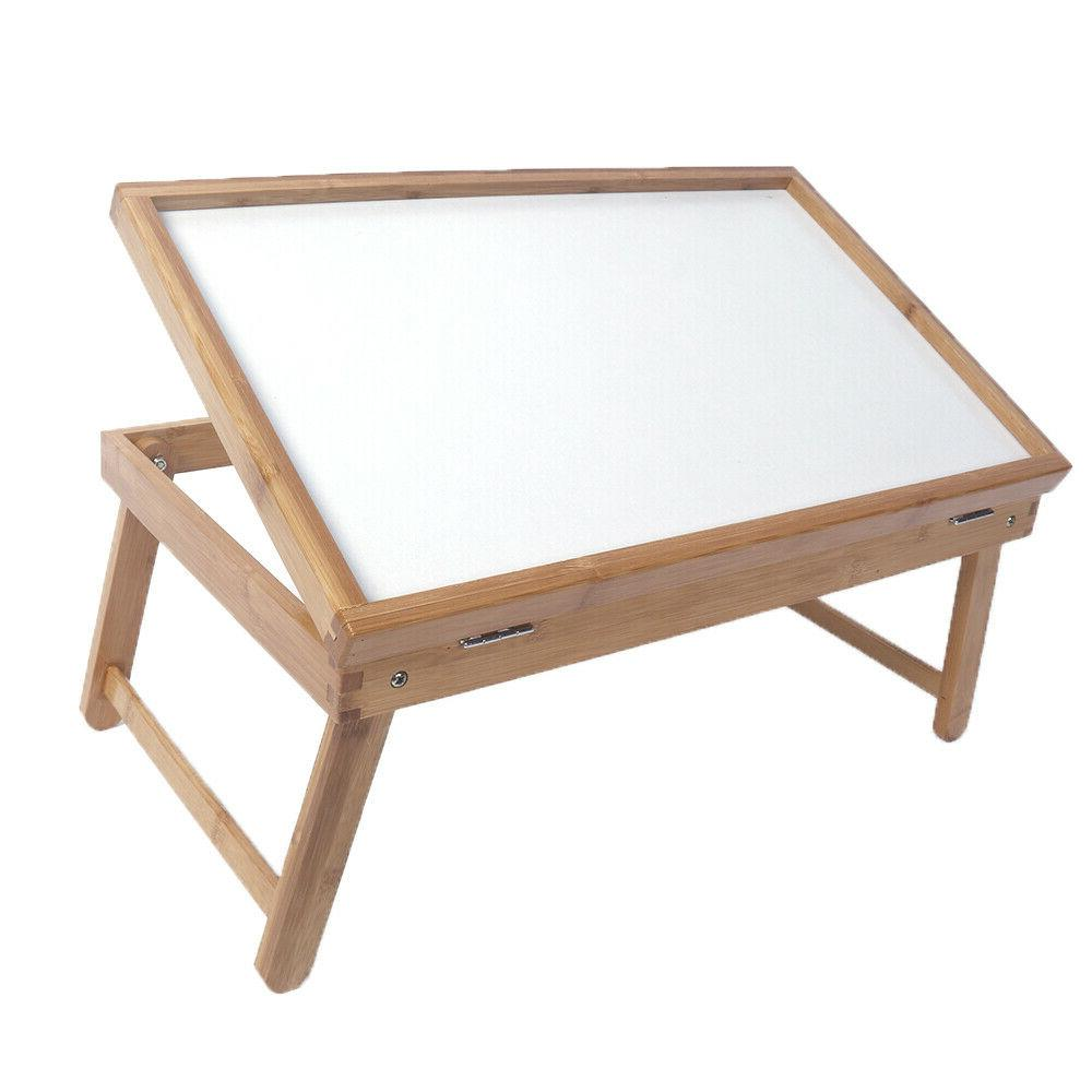 Table Top Adjustable Dining-table Wood Color & White Plank n