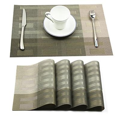 vinyl placemats washable dining table mats heat