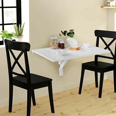 Wall-Mounted Drop-Leaf Table Folding Dining Table Space Save