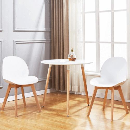 White Top Kitchen Dining Wood Table Office