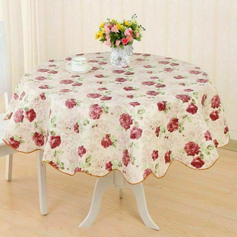 Wipe Tablecloth Dining Kitchen Cover