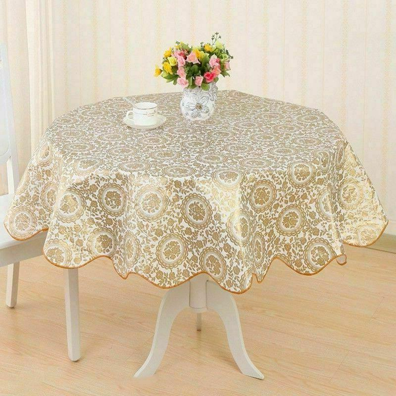 Wipe Vinyl Tablecloth Table Cover Latest
