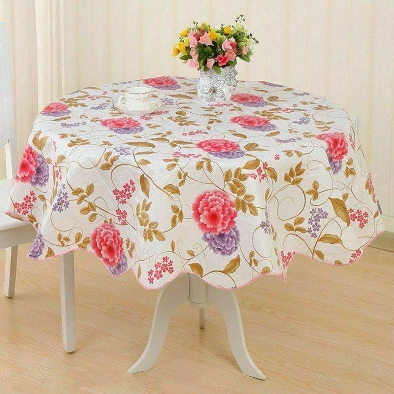 Wipe Tablecloth Cover Round Latest Funny